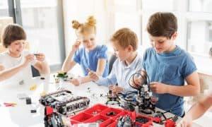 Urodziny z robotami Lego