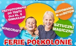 Półzimowisko w ferie dla 9-13 latków w Olsztynie
