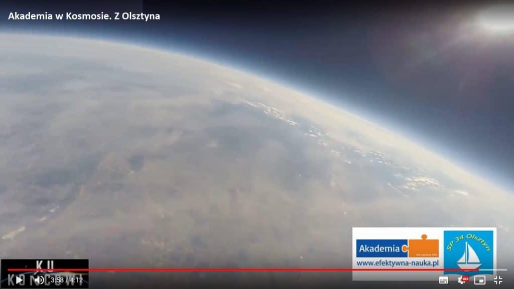 Akademia w Kosmosie. Z Olsztyna