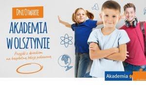 Zapisy na lekcje pokazowe i kursy Akademii w roku szkolnym 2021/22