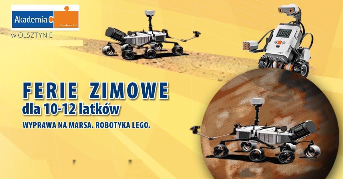 wyprawa Lego na Marsa z Akademii w Olsztynie
