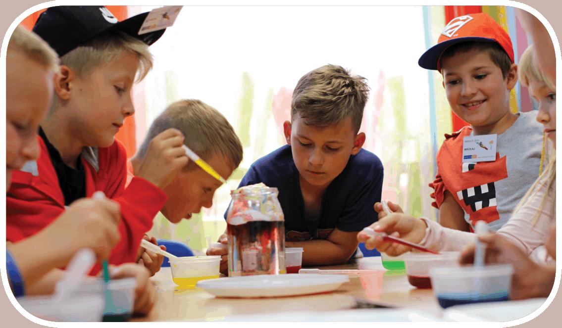 eksperymenty naukowe dla dzieci w Akademii w Olsztynie