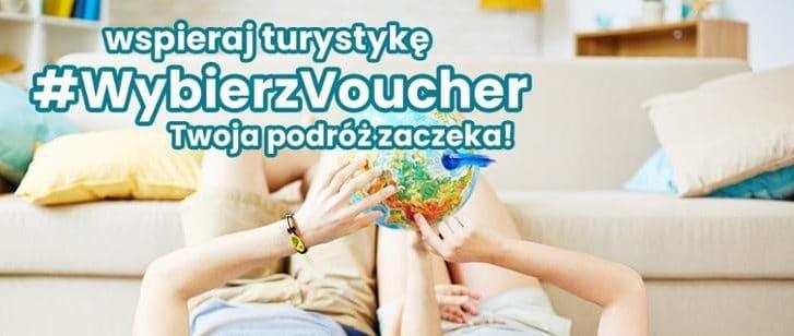 Wspieraj turystykę. Wybierz voucher