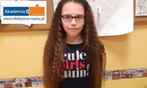 9-letnia rekordzistka zapamiętywania z Olsztyna